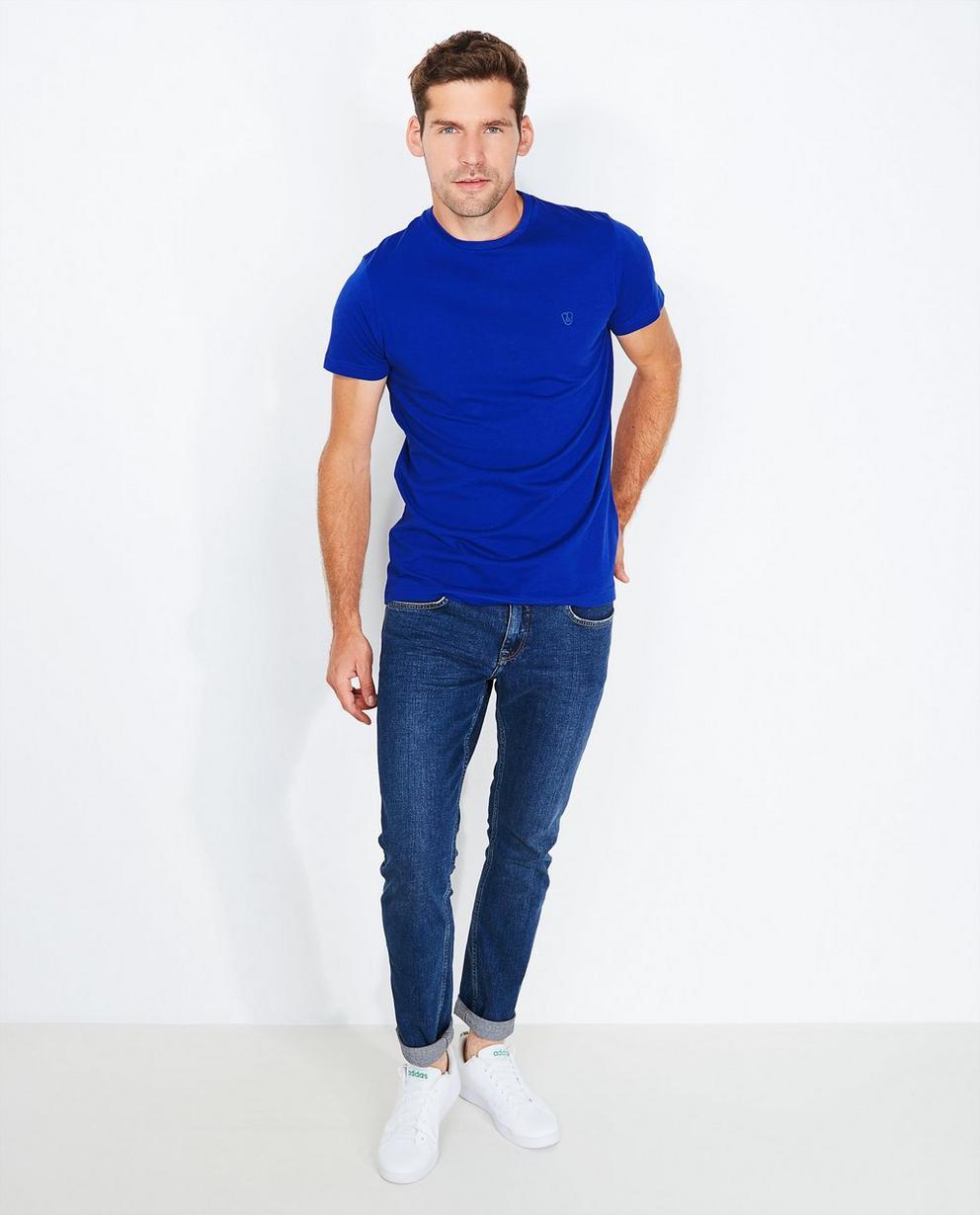 Bordeauxrood T-shirt, comfort fit - null - Tim Moore